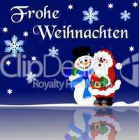 Hintergrund Frohe Weihnachten