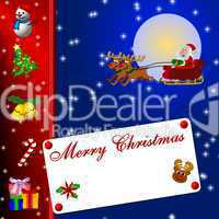 Hintergrund Merry Christmas