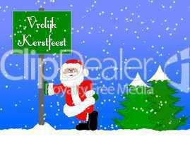 Weihnachtshintergund holländisch