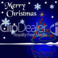 Hintergrund Merry Christmas abstrakt
