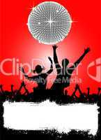 party disco plakat