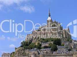 Le Mont-Saint-Michel, Klosteranlage