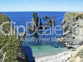 Belle-Ile, Les aiguilles de Port Coton