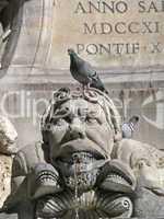 Rom, Piazza della Rotonda, Brunnen