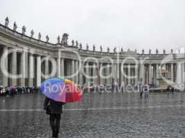 Vatikan, Petersplatz, Piazza San Pietro