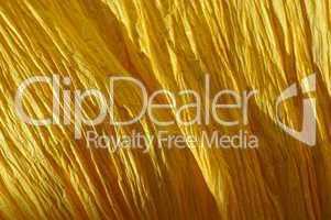 Gelb gefärbter Stoff