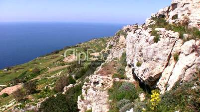 Steilküste auf Malta