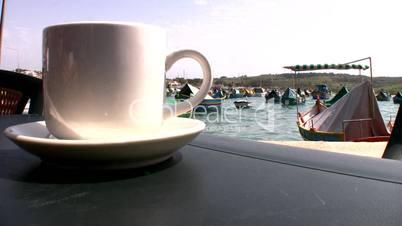 Cafe in Marsaxxlok