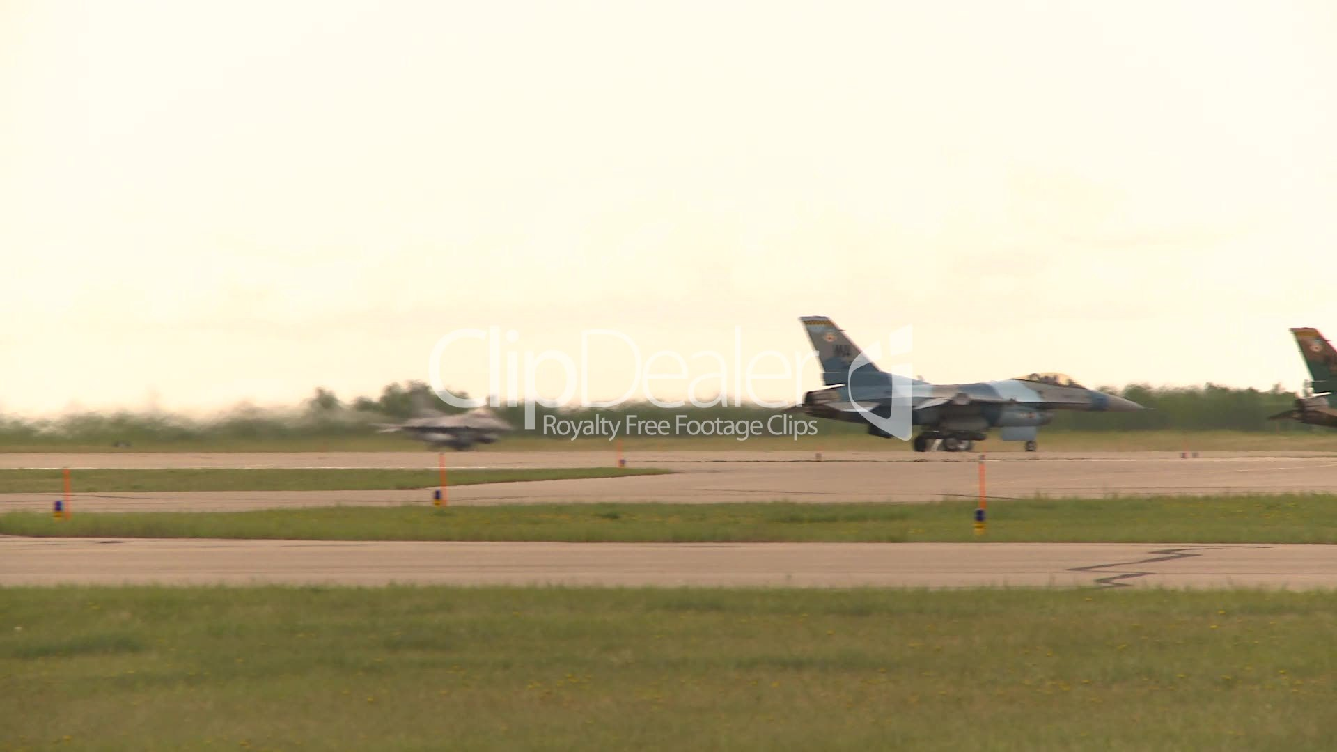 F16 takeoff: Royalty-free video and stock footage
