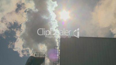 steam stack industry steam block sun
