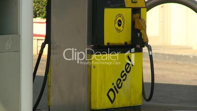 gas stn diesel pump