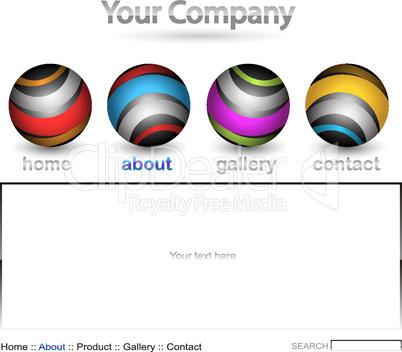 Website Template bunt