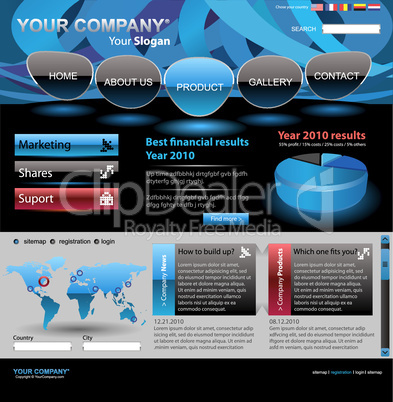 Full website template