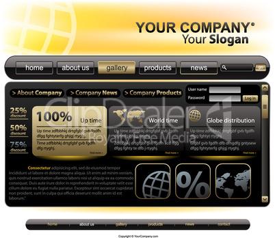 Full website template