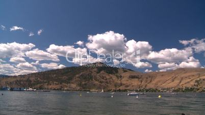 Okanagan Lake, British Columbia, Canada.
