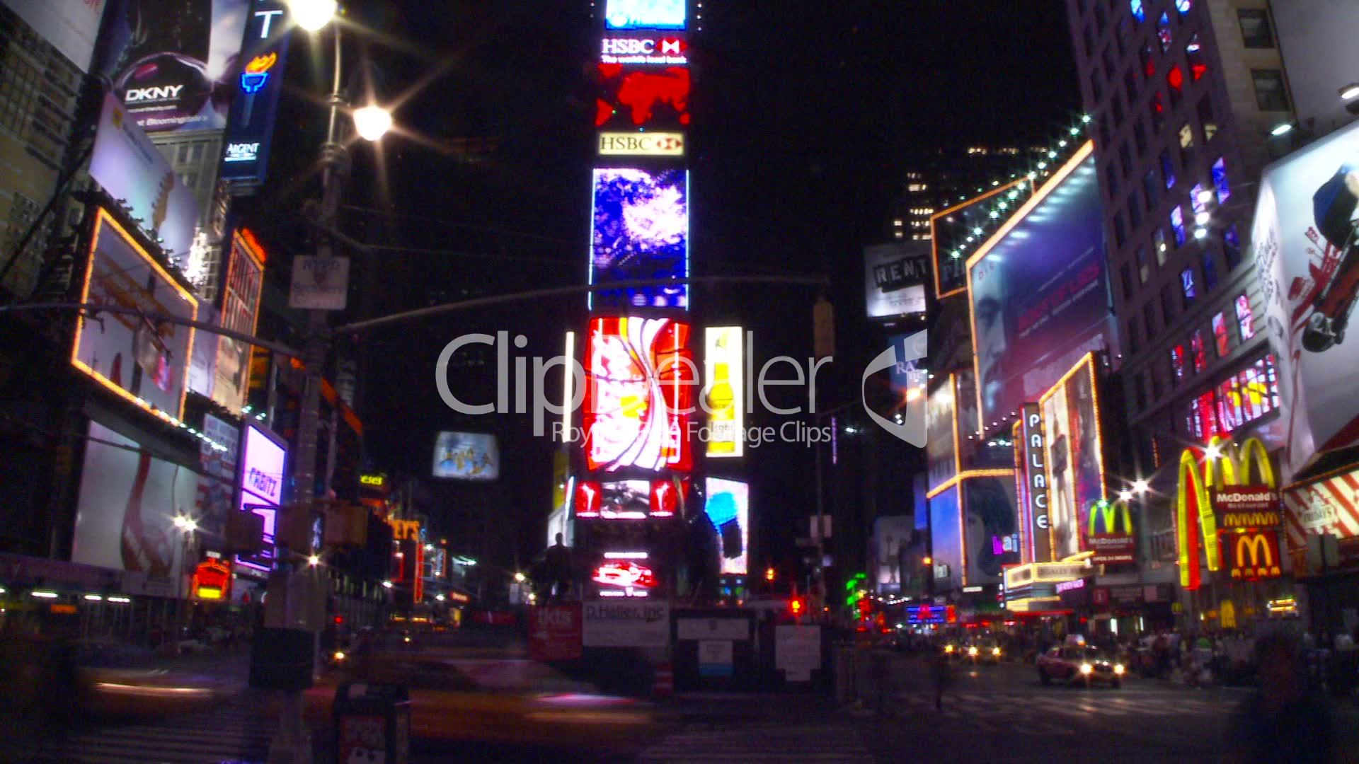 Times Square · Royalty Free Videos
