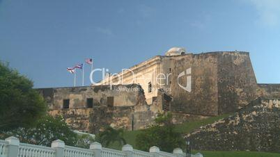 San Juan old town fort