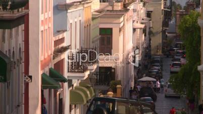 San Juan old town buildings