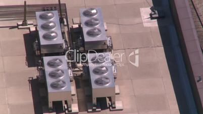 aerial Cgy rooftop coolingfans
