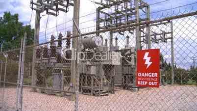 high voltage signZ