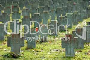 Gräber ziviler Bombenopfer