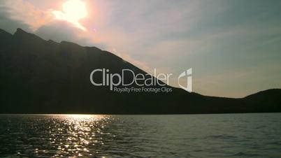 lake boat ride sun