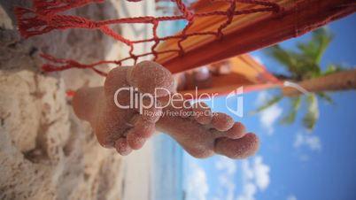 Füsse im Sand
