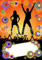 party - disco plakat