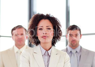 Portrait of a confident buinesswoman