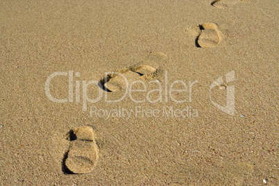 Fußabdruck, footprint
