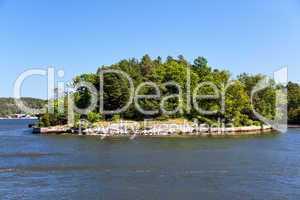 Kleininsel im Stockholm-Archipel,Schweden