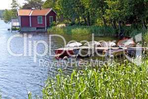 Kleininsel im Stockholm-Archipel,Vaxholm