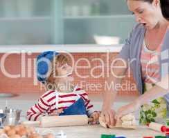 Childhood fun in the kitchen