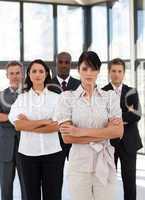 Potrait of a multi-racial Business Group