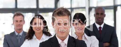 Portrait of a confident business leader