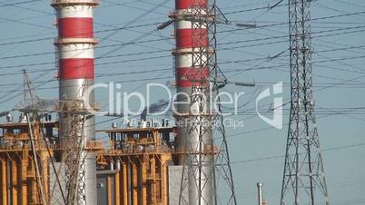 Power plant industrial complex