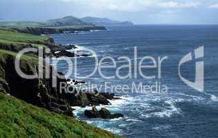 Küstenlandschaft,Irland