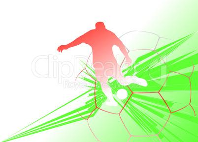 Fußball-Background 1