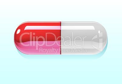 Pille rot-weiss