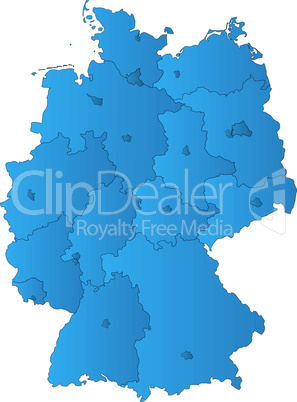 Deutschland + Bundesländer + Hauptstädte