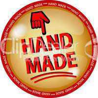 hand made button