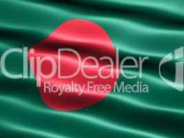 Fahne der Volksrepublik Bangladesch -- Flag of Bangladesh