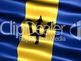 Fahne von Barbados  -- Flag of Barbados