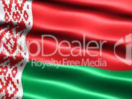 Fahne der Republik Weißrussland -- Flag of Belarus