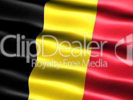 Flagge des Königreichs Belgien -- Flag of Belgium
