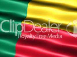 Flagge der Republik Benin -- Republik Benin Flag of Benin