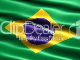 Fahne von Brasilien .. Flag of Brazil