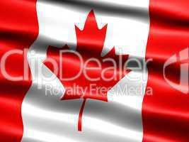 Flagge von Kanada -- Flag of Canada