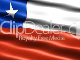 Flagge der Republik Chile -- Flag of Chile