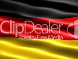 Fahne von Deutschland  .. Flag of Germany